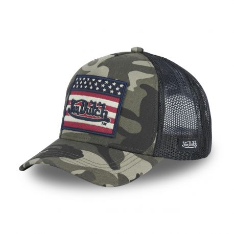 Casquette Trucker Flag Camouflage