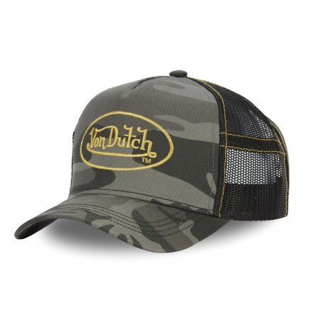 Casquette trucker avec filet Golden Camouflage