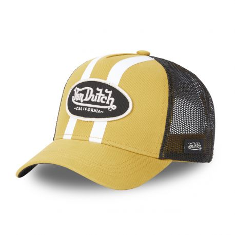 Casquette Trucker Von Dutch Strike Jaune