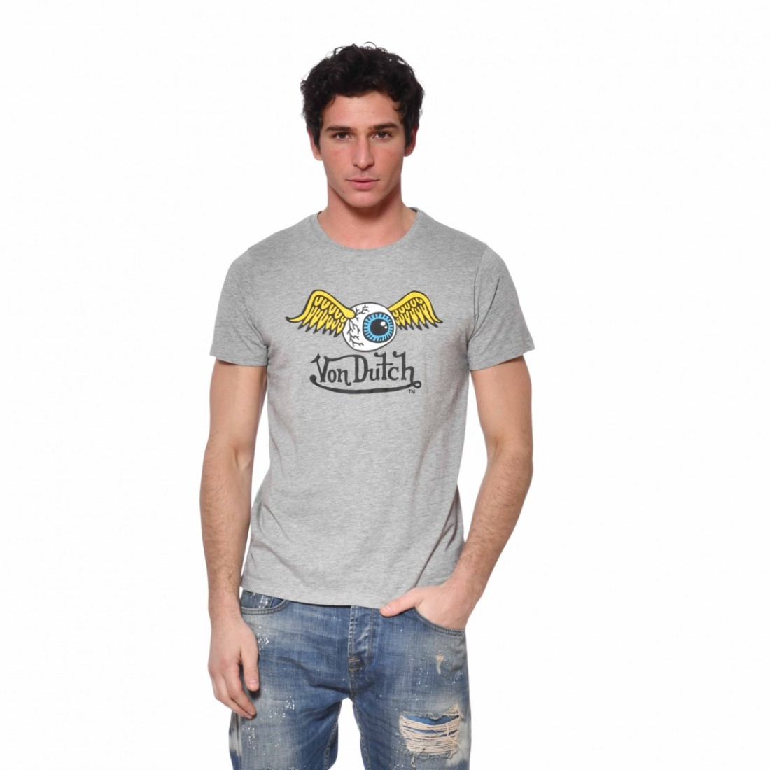 T-Shirt Homme Coton Fly