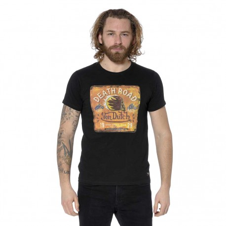 T-shirt homme col rond Death